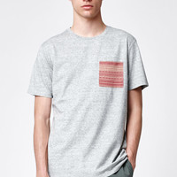 On The Byas Leith Pocket Crew T-Shirt at PacSun.com