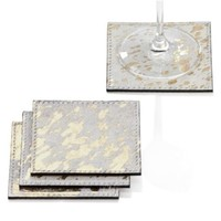 Reza Coaster - Set of 4 | Luxe for Less Tableware | Luxe For Less | Z Gallerie