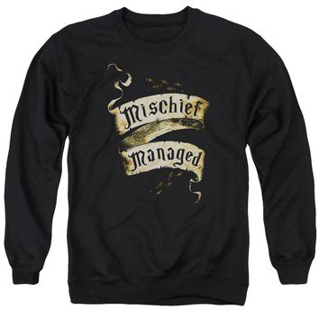 Harry Potter - Mischief Managed Adult Crewneck Sweatshirt Officially Licensed Apparel