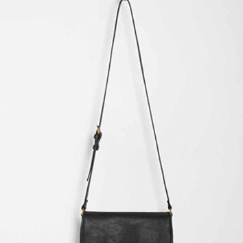 Unstructured Faux Leather Crossbody
