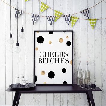 PRINTABLE Art,CHEERS SIGN,Bar Decor,Restaurant Decor,Drink Sign,Celebrate Life,Funny Print,Inspirational Quote,Birthday Gift,Friends Gift