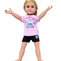 Gymnast Active Set Doll Outfit | Girls Toys & Games Bogo Beauty, Room & Toys | Shop Justice