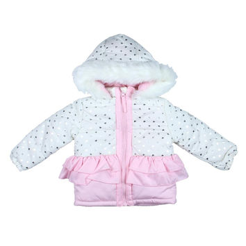 Steve Madden Baby Girl Hooded Parka