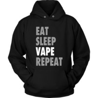 Eat Sleep Vape Repeat - Unisex Hoodie