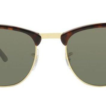LMF8UH Ray Ban - Clubmaster Tortoise - Green