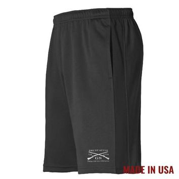 Men's Athletic Shorts - Black