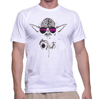 DJ Yoda Jedi Master Star Wars For Men T-shirt