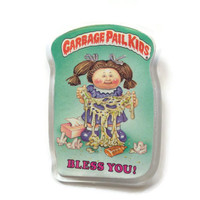 1986 Garbage Pail Kids Pin! BLESS YOU! Collector Pin 1986 Topps 1st Series Vintage Retro Button GPK Great Gift