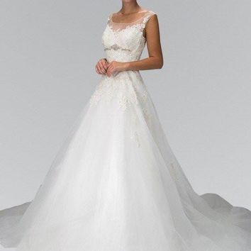 Affordable  A line Wedding dress