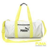 BN PUMA Dizzy Shoulder Messenger Gym Bag Silver