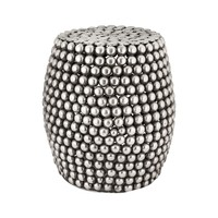 Peweter Pebble Stool