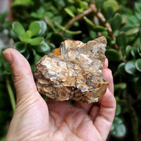 Raw Mica Specimen // Mica Crystals in Matrix // Wiccan Altar Supplies // Natural Wicca Healing Stone // Raw Stone Specimen // Pagan Altar