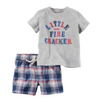 Carter's 2-pc. Short Set Baby Boys - JCPenney