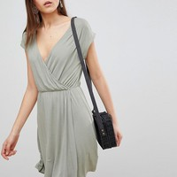Brave Soul Crissy Wrap Dress at asos.com