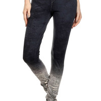 OMBRE CRACKLE JEGGING