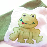 Baby Boy Outfit - Baby Boy Frogs - Baby Boy Gift - Baby Boy Shower - Baby Fashion - Cute Baby Boy Clothes - New Baby Boy Outfit