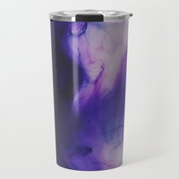 Violet Aura Travel Mug by duckyb