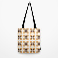 1970's Flowers Tote Bag by Inspired Images