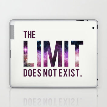 The Limit Does Not Exist - Mean Girls quote from Cady Heron Laptop & iPad Skin by AllieR | Society6