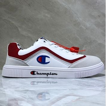 Champion Awol Atlanta Retro leather shoes