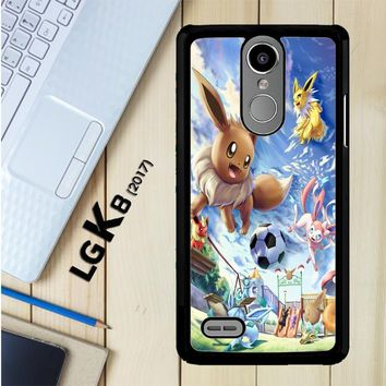 Eevee And Umbreon And Espeon X0915 LG K8 2017 / LG Aristo / LG Risio 2 / LG Fortune / LG Phoenix 3 Case