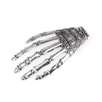Punk Style Hand Bone Hair Accessory