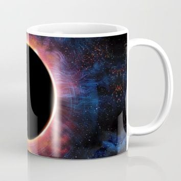 Artistic XCV - Solar Eclipse Coffee Mug by tmarchev