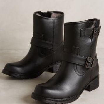 Jeffrey Campbell Clima Rain Boots in Black Size: