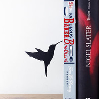 Floating Hummingbird Bookend