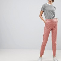 ASOS TALL Tailored Linen Cigarette Trousers at asos.com
