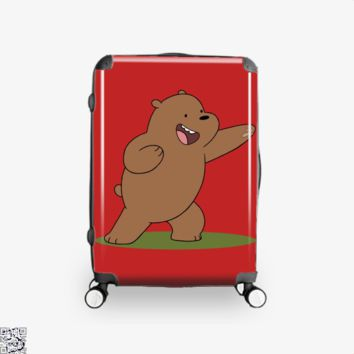 Grizzly Bear Fight, We Bare Bears Suitcase