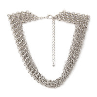 Layered Chain-Link Necklace