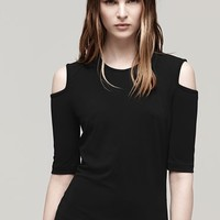 Rag & Bone - Michelle S/S Top, Black