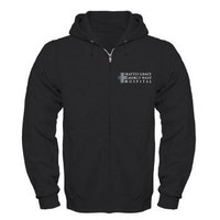 SGMW Hospital Zip Hoodie (dark)> Seattle Grace Mercy West Hospital> Grey's Anatomy TV Store