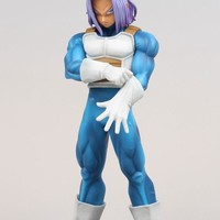 Dragon Ball Z Resolution of Soldiers VOL 2 Son Gokou Trunks Figure Super Seiya Original Banpresto DXF Action Figuras Model