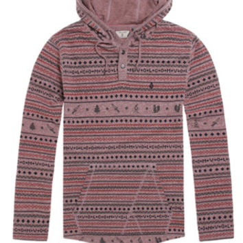 Volcom Ole Hooded Henley Shirt at PacSun.com