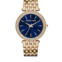 Michael Kors Women's Gold-Tone Plated Darci Watch - Belk.com