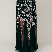 Free People Windswept Embroidered Maxi