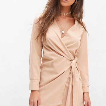 Buy Toasted Wrap Dress Online by SABO SKIRT
