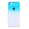 Aqua Blue Clear Waterdrop Hard Case For iPhone 5 & 5S