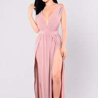 Magic Dress - Mauve