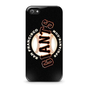 SAN FRANCISCO GIANTS 2 iPhone 5 / 5S / SE Case Cover