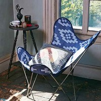 4040 Locust Hiram Butterfly Chair Cover - Dark Blue One