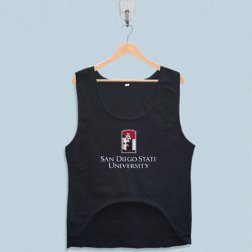 Women's Crop Tank - San Diego State University