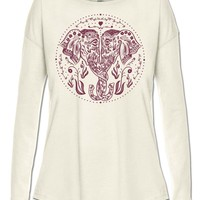 NEW! Twisted Trunk Long Sleeve Slouch Top