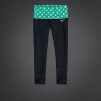 Hollister Cropped Yoga Leggings