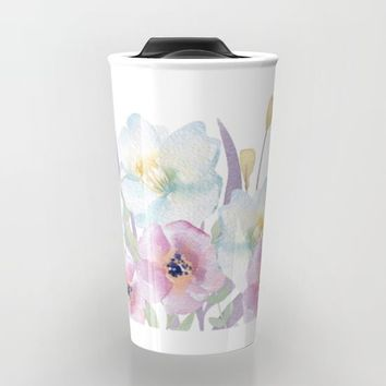 bloom Travel Mug by Sylvia Cook Photography