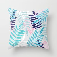 Warmer Days Throw Pillow by rskinner1122