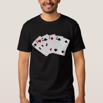 Poker Hands - Full House - Eight and Four Shirt