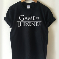 game of thrones logo T-shirt Men, Women, Youth and Toddler